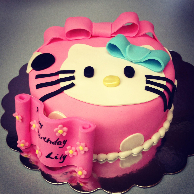 Hello kitty birthday cake by peace of cake catoosa ok