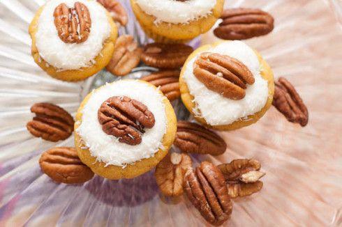 Hodgson Mill | Gluten Free Carrot Cake Mini-Cupcakes ...