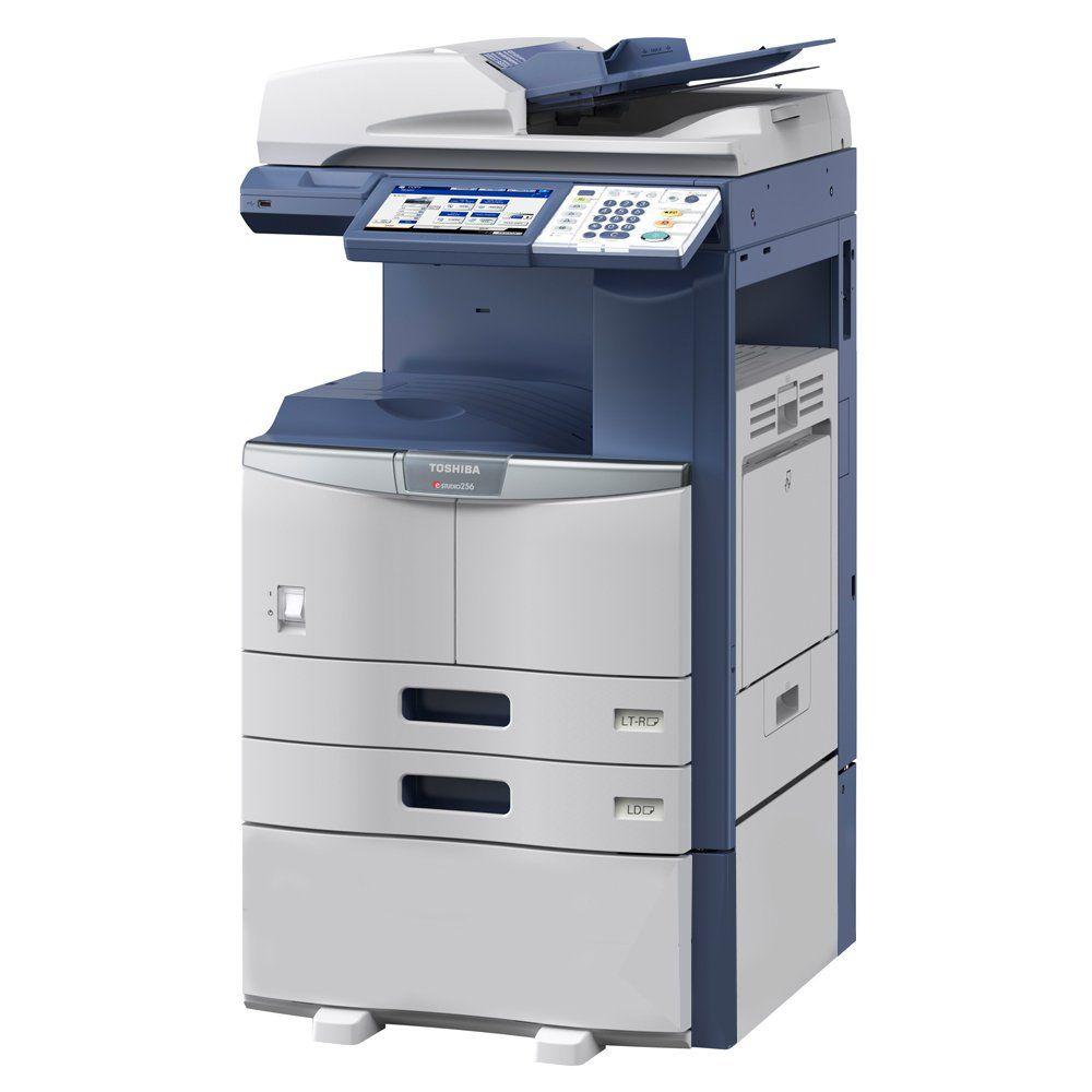 Hp hp color laser printers 11x17 - Toshiba E Studio 356 Black And White Mfp Copier Printer Scanner All