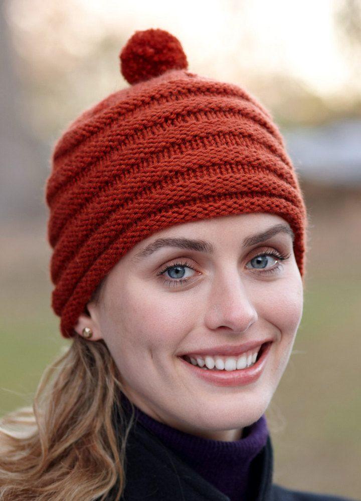 e96dbfca610 Two Ball Hat in Lion Brand Superwash Merino Cashmere - L0561. Discover more…