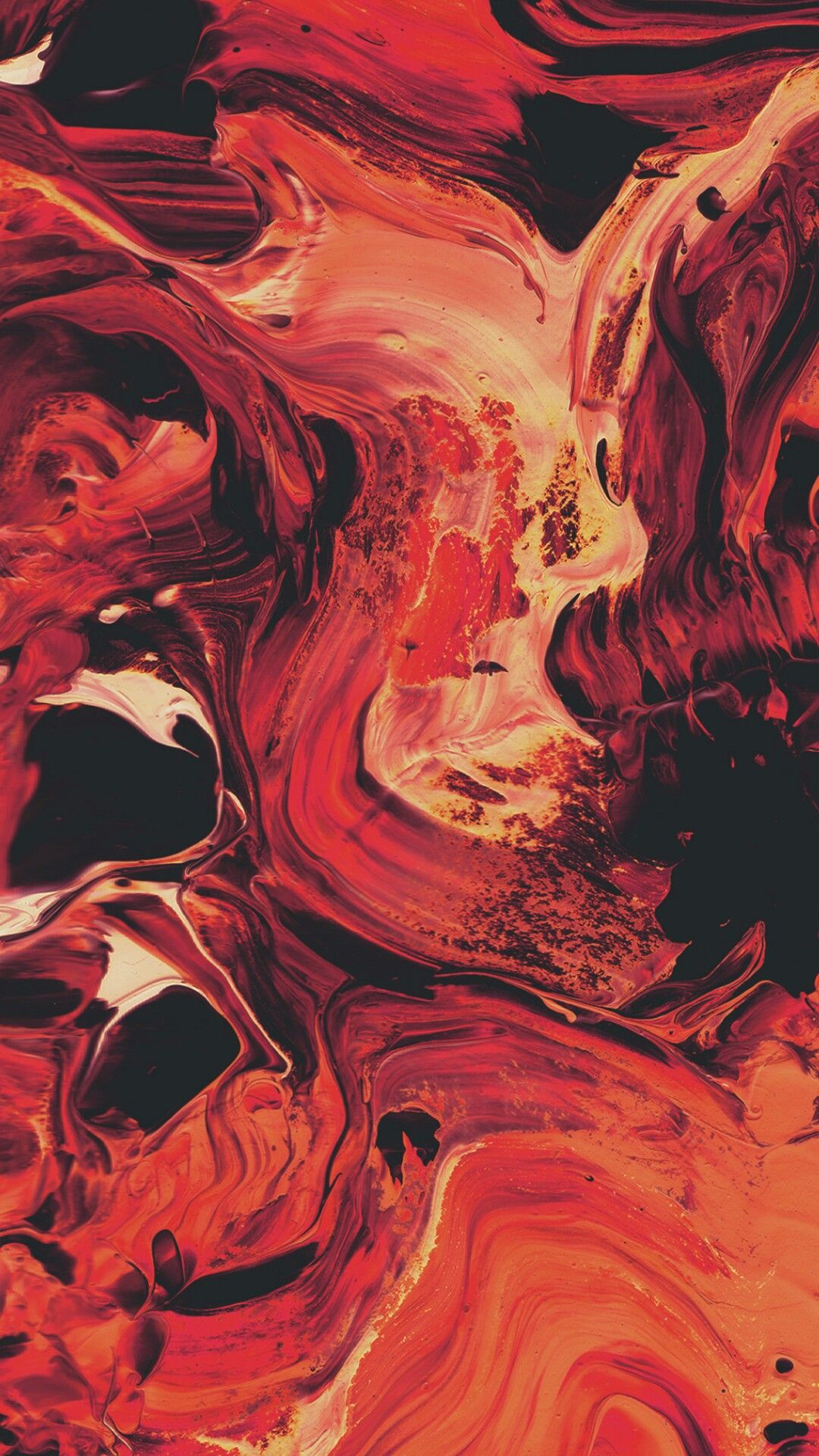 Pin By Zoe On Abstract Amoled Liquid Gradient Red Marble Wallpaper Apple Wallpaper Marble Wallpaper