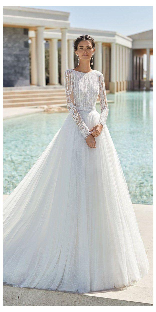 33 Cute Modest Wedding Dresses To Inspire modest wedding