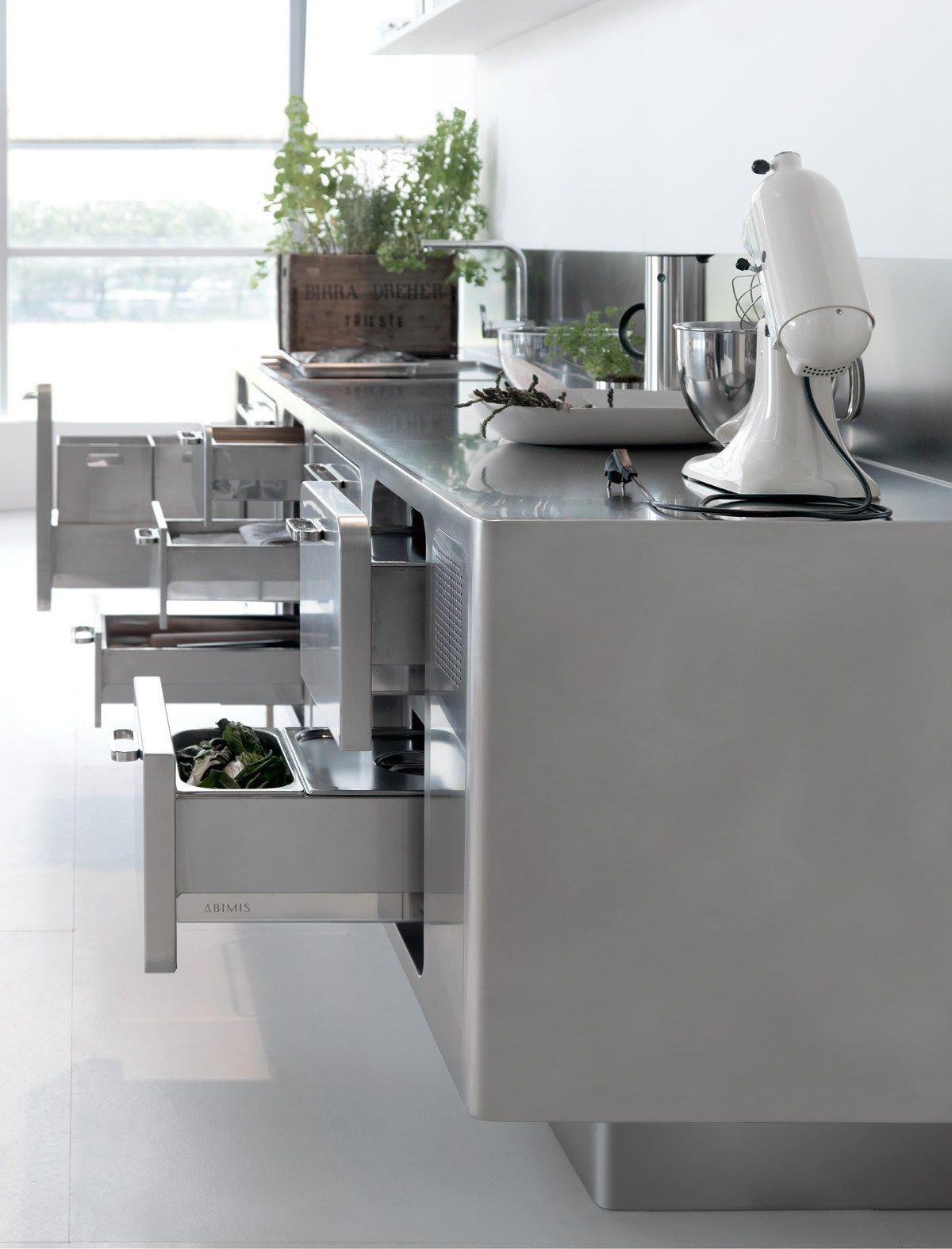 Cucina professionale in acciaio inox ABIMIS by ABIMIS by PRISMA ...