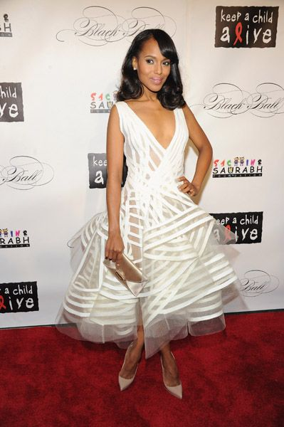 Kerry Washington in Sheer, Tulle Perfection....