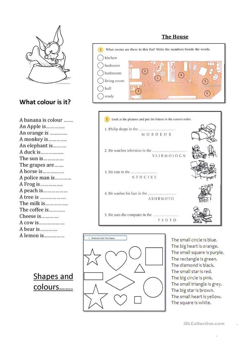 Mix Activities Beginners Elementary worksheet Free