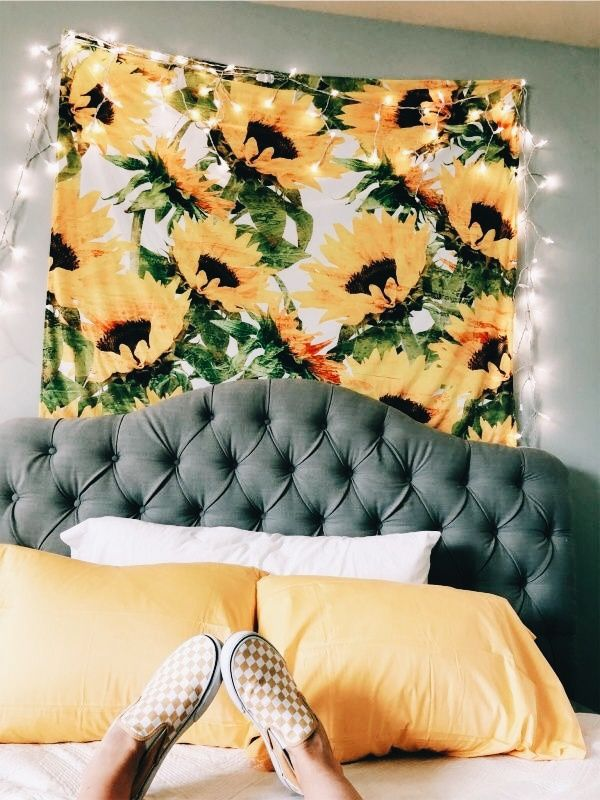 Pin By Neesha Smith On For The Home Aesthetic Rooms Sunflower