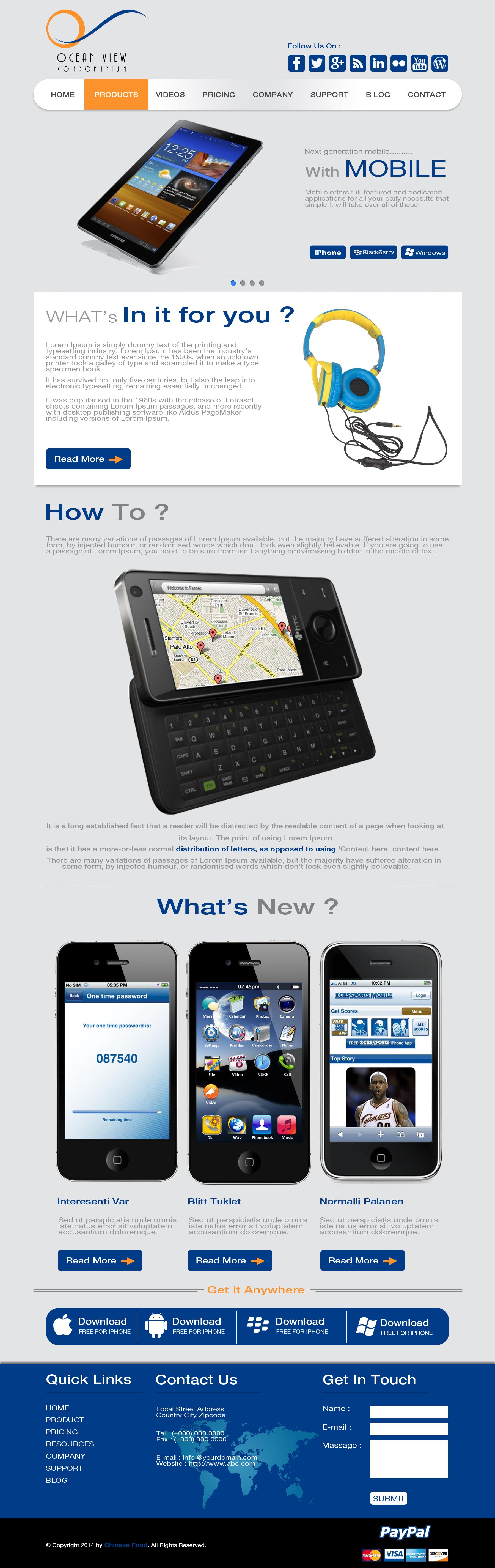 Demowebsite_business whats new business blog