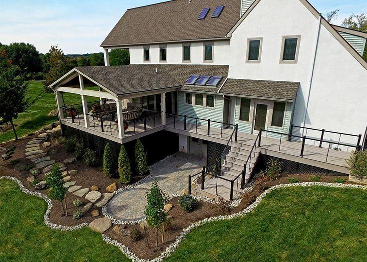 Backyard Patio Designs Deck Plans