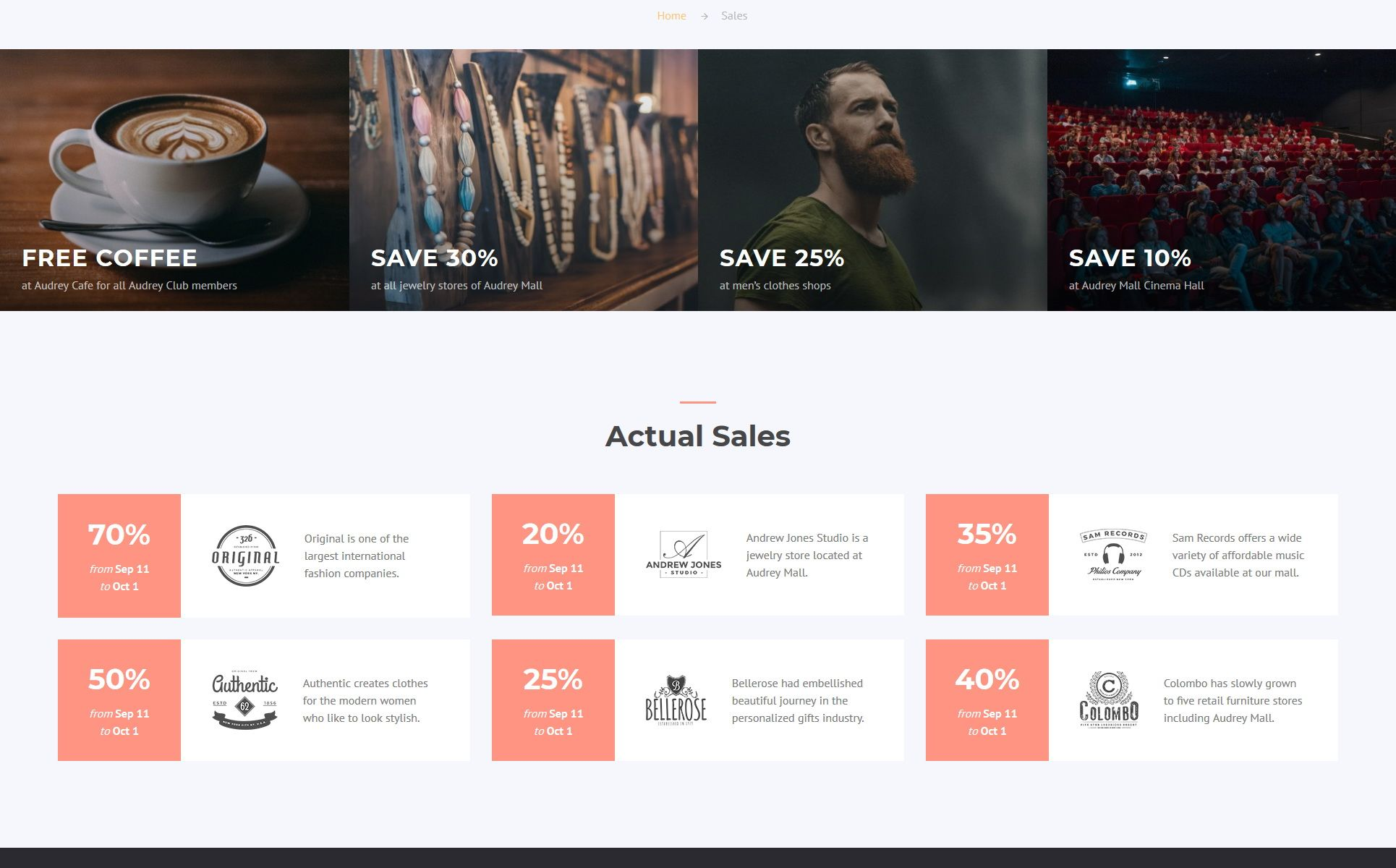Fashion Day Fashion Shop Multipage Html Website Template