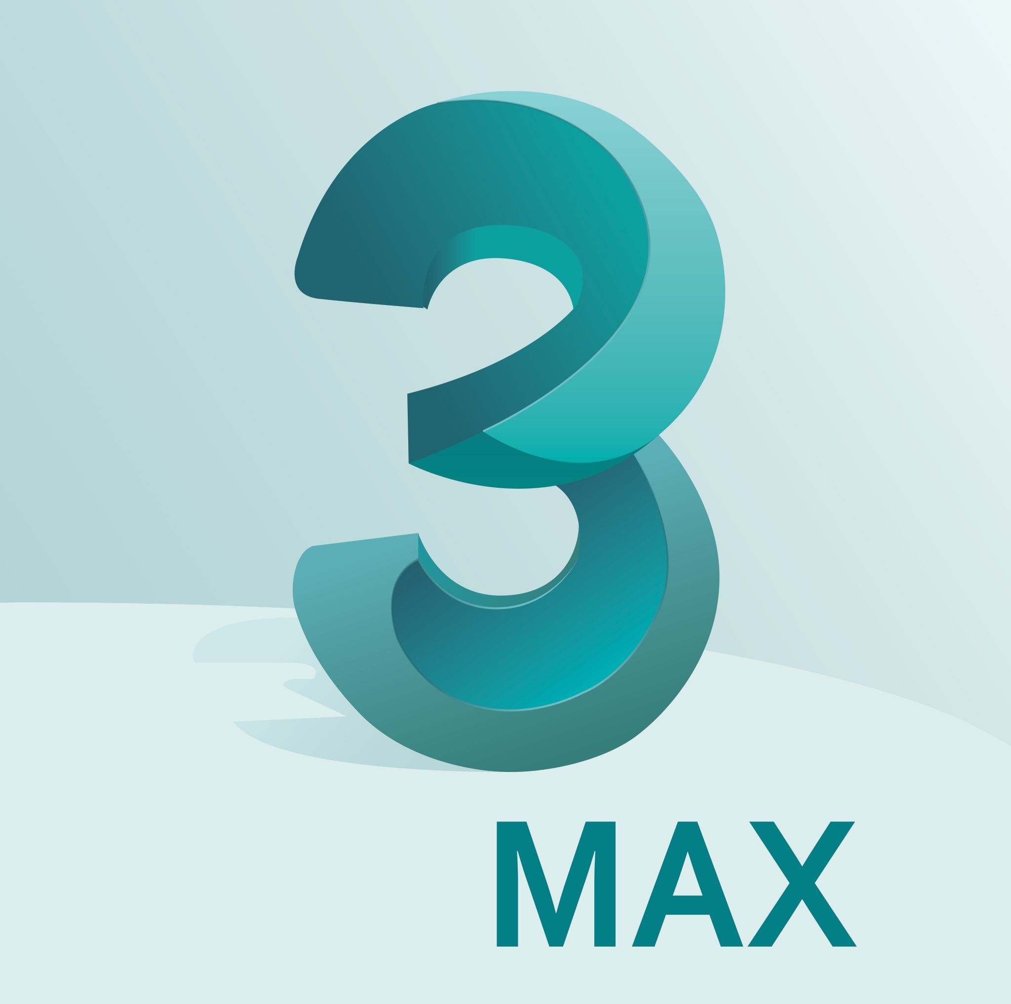 3DS Max Logo (Autodesk) Vector EPS Free Download, Logo ...