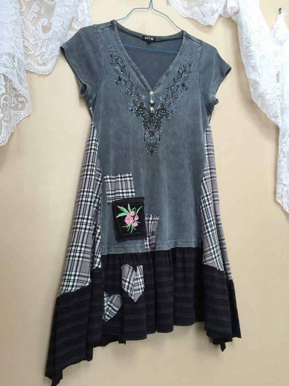 Medium - Altered Clothing, Upcycled Wearable Art Junk ...