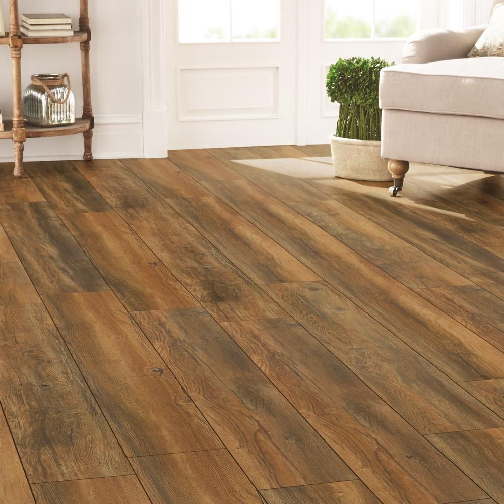 Yorkhill Oak 12 Mm Thick X 7 16 In Wide 50 5 8 Length Laminate Flooring 18 2 Sq Ft Case Hc02 The Home Depot