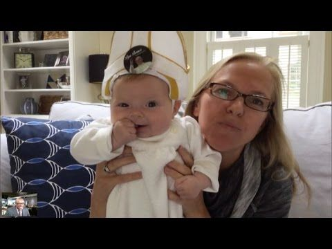 Inside Edition:  Pope Francis Tells Mom of Baby Pope: You Have a Great Sense of Humor - @YouTube