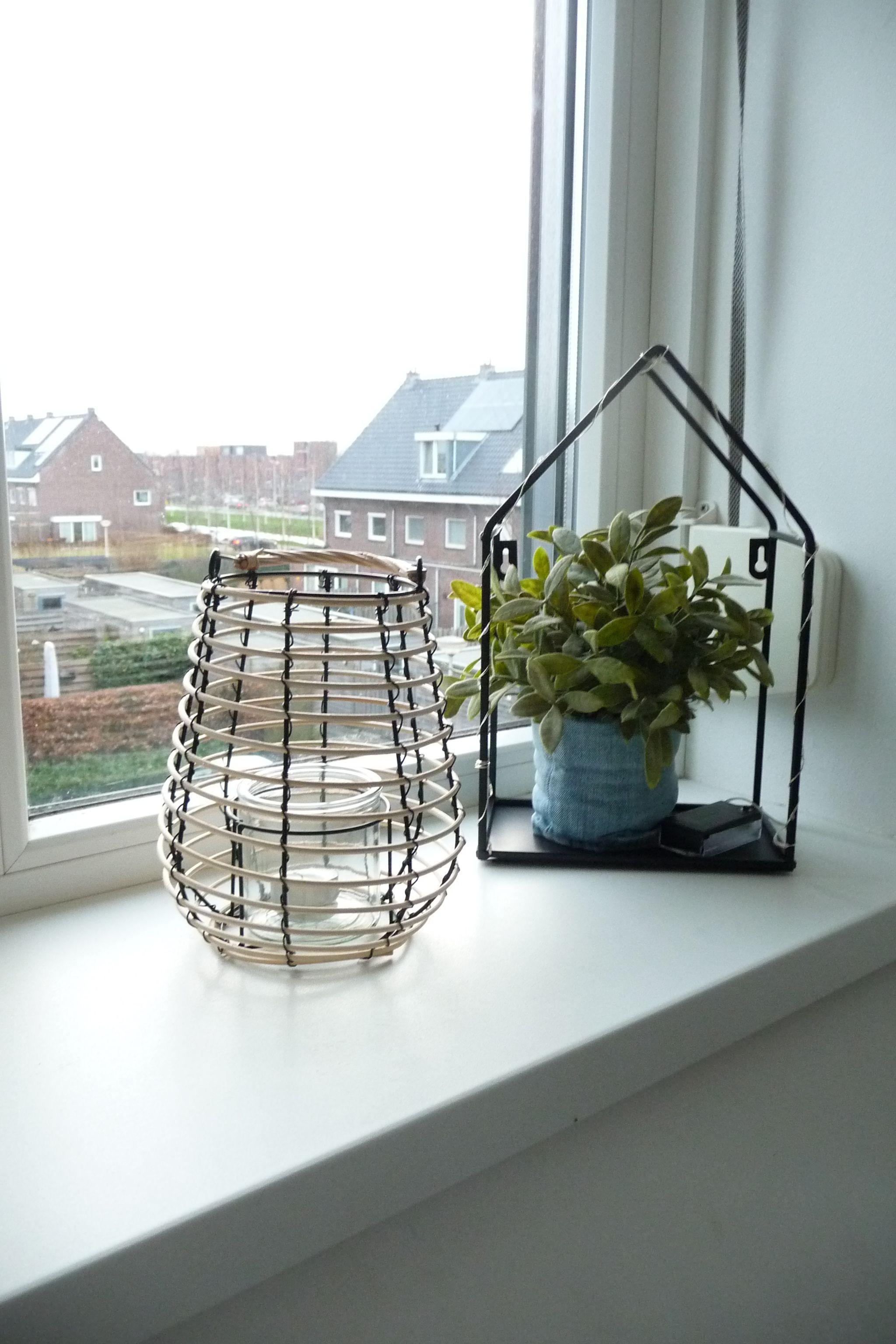 Windlamp Decoratie Venster Decoratie Huis Ideeen Decoratie Raamdecoratie