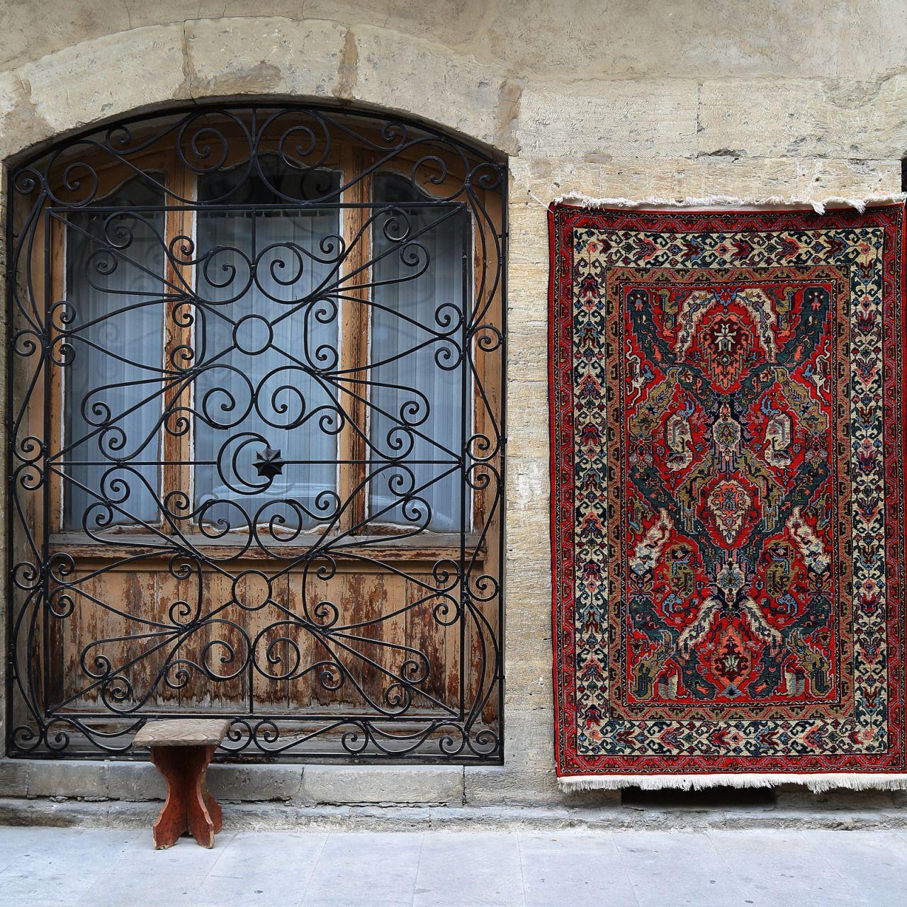 Vse My Obozhaem Rugs On Carpet Azerbaijan Lattice