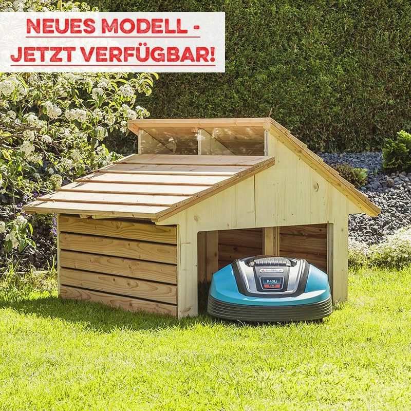 m hroboter garage robogard home garten pinterest terrasse ideer terrasse und ideer. Black Bedroom Furniture Sets. Home Design Ideas