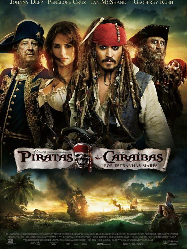 Piratas Das Caraibas Por Estranhas Mares Piratas Do Caribe Filmes Piratas Filmes