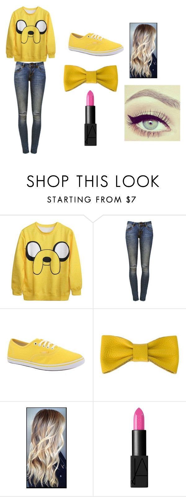 """Jake the dog"" by acx-madii ❤ liked on Polyvore featuring Anine Bing, Vans and NARS Cosmetics"