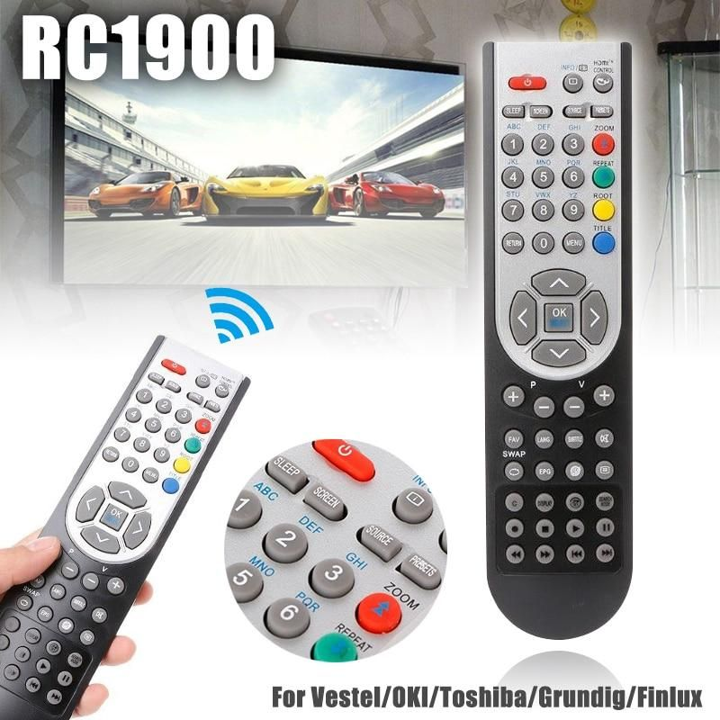 Rc1900 Tv Remote Control Universal Replacement For Vestel Oki