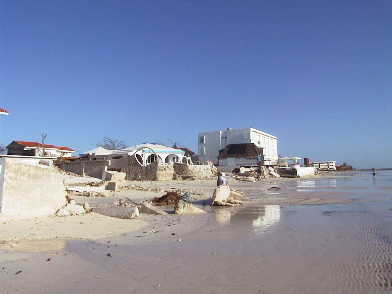 Hurricane Wilma Devastation Puerto Morelos 2005 Puerto Morelos Riviera Maya Resorts Riviera Maya