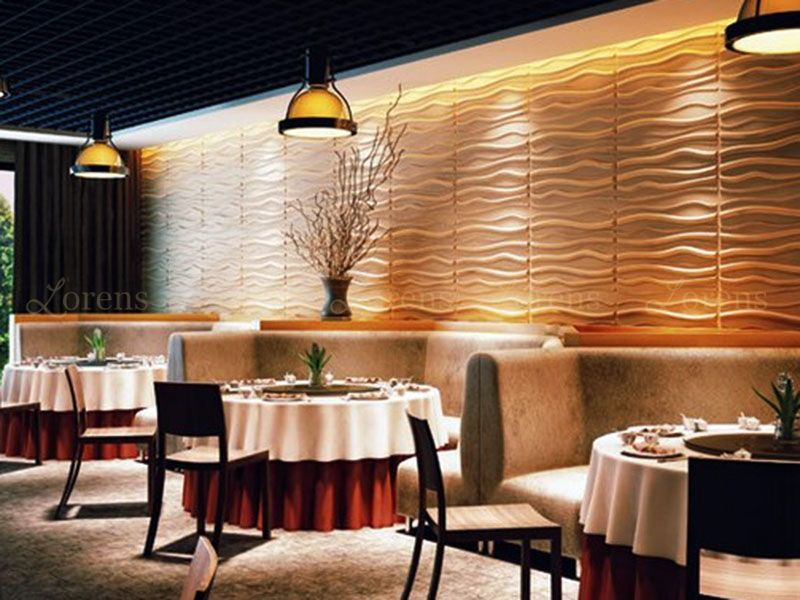 A1 Perete Decorativ 3d Restaurant Hotel Textured Wall Panels Wainscoting Wall Paneling Wainscoting Wall