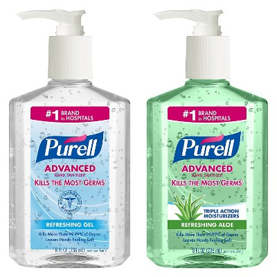 Purell Advanced Hand Sanitizer And Wipes Kit Hand Sanitizer