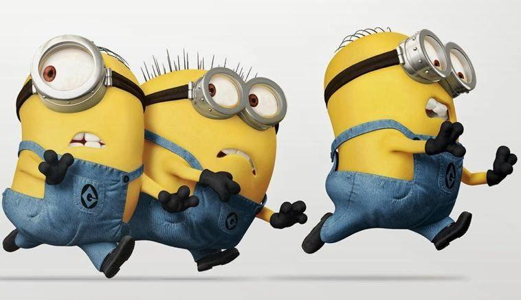 Running Minions Minions Pinterest