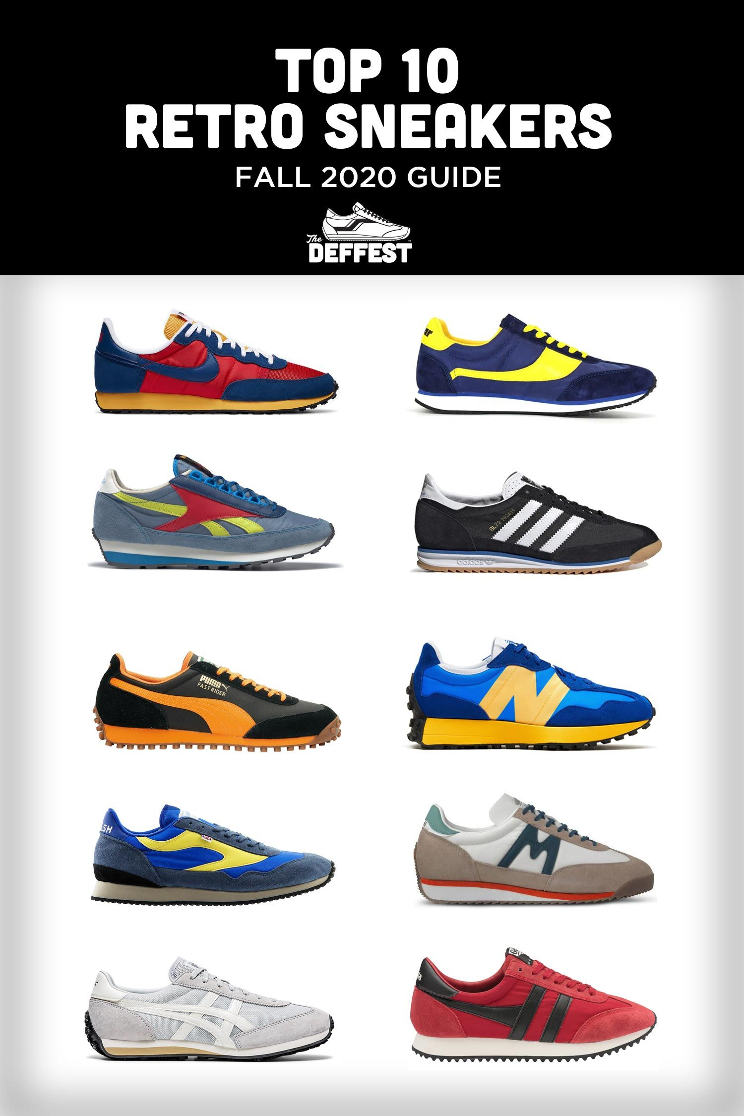 TOP 10 RETRO SNEAKERS OUT NOW - FALL