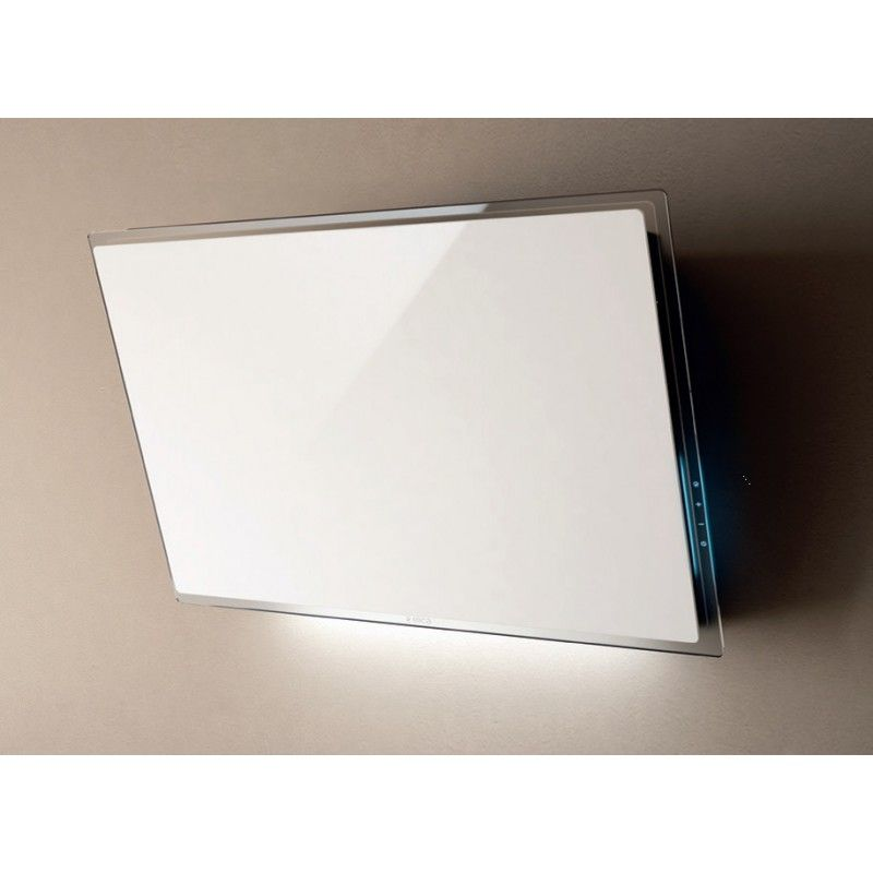 Wall Mounted Hood In White Glass Buy Now