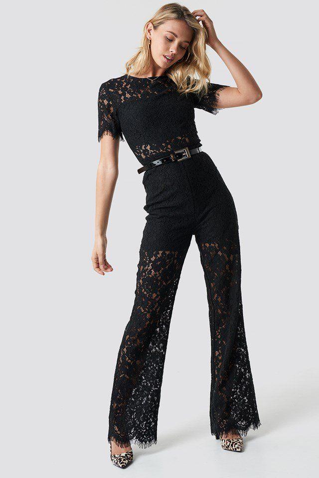 38c67c4ab90b Wide Leg Lace Jumpsuit NA-KD.COM