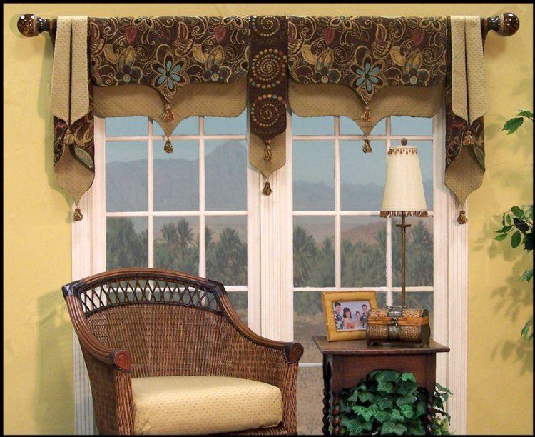 Moranccan valance-Spanish from M\'Fay pattern   Window treatments ...