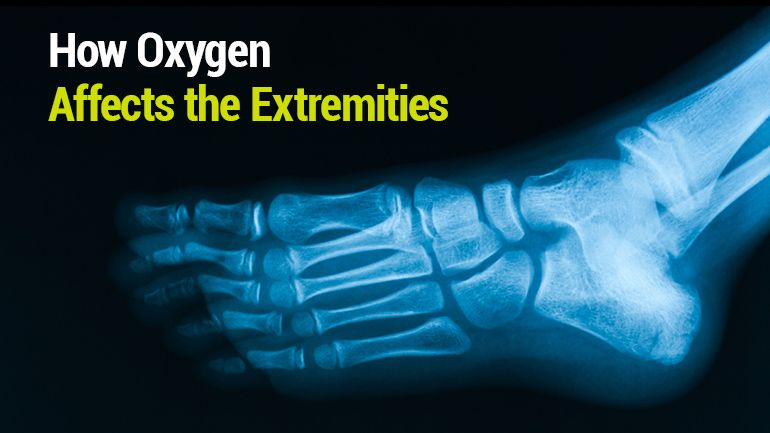 How oxygen affects the extremities with images oxygen