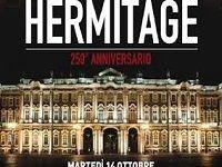 l'Hermitage festeggia i 250 anni al cinema guidando gli spettatori alla scoperta dei tesori conservati nel sontuoso scrigno di San Pietroburgo.