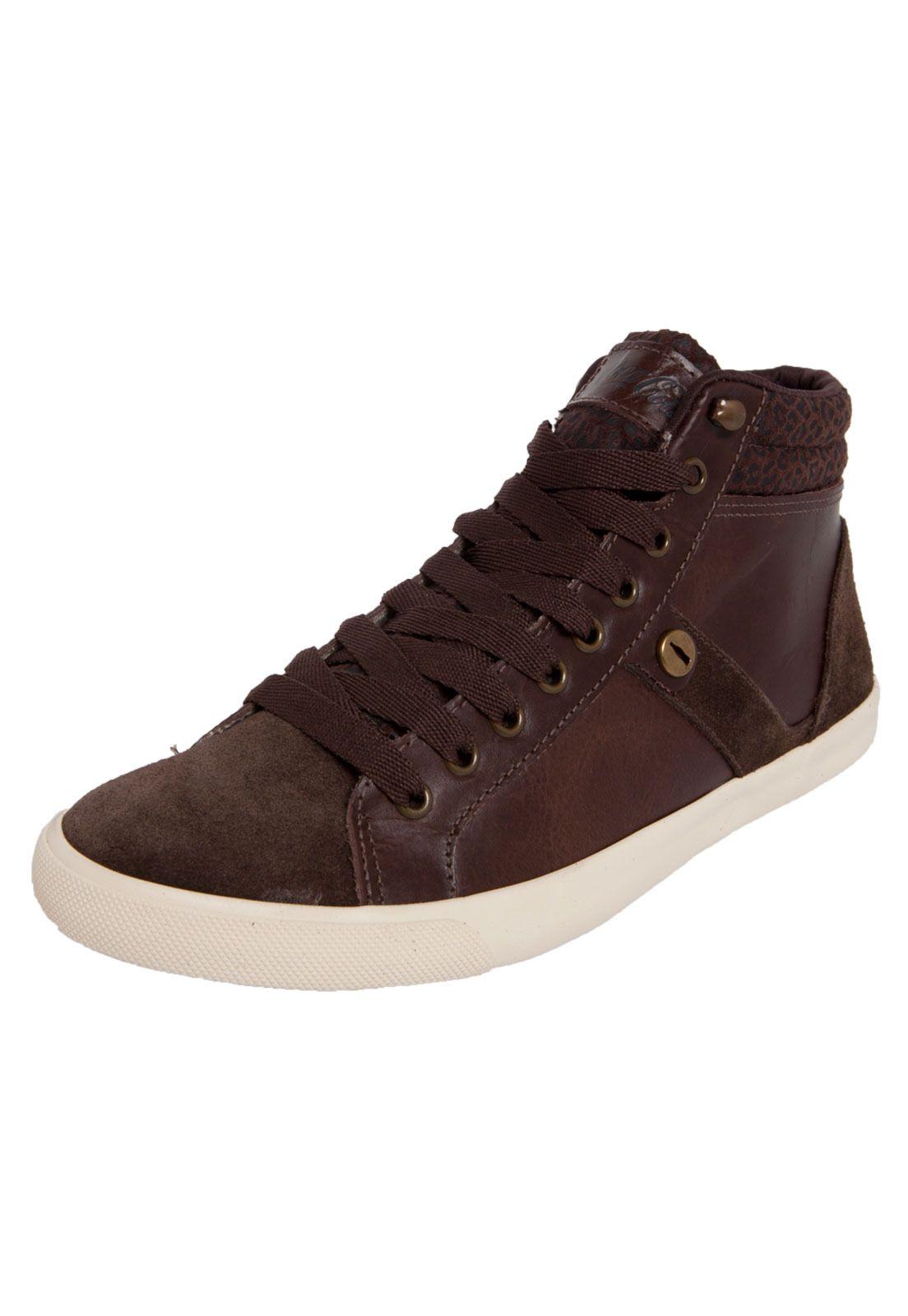 1215dbe5048 Tênis Coca Cola Shoes Walking Marrom - Compre Agora