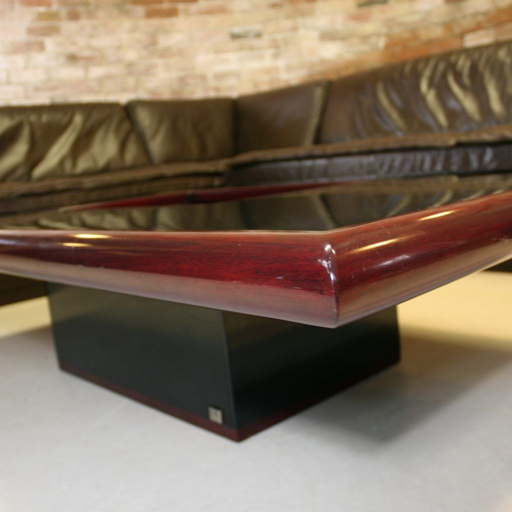 Large Square Cherry Coffee Table