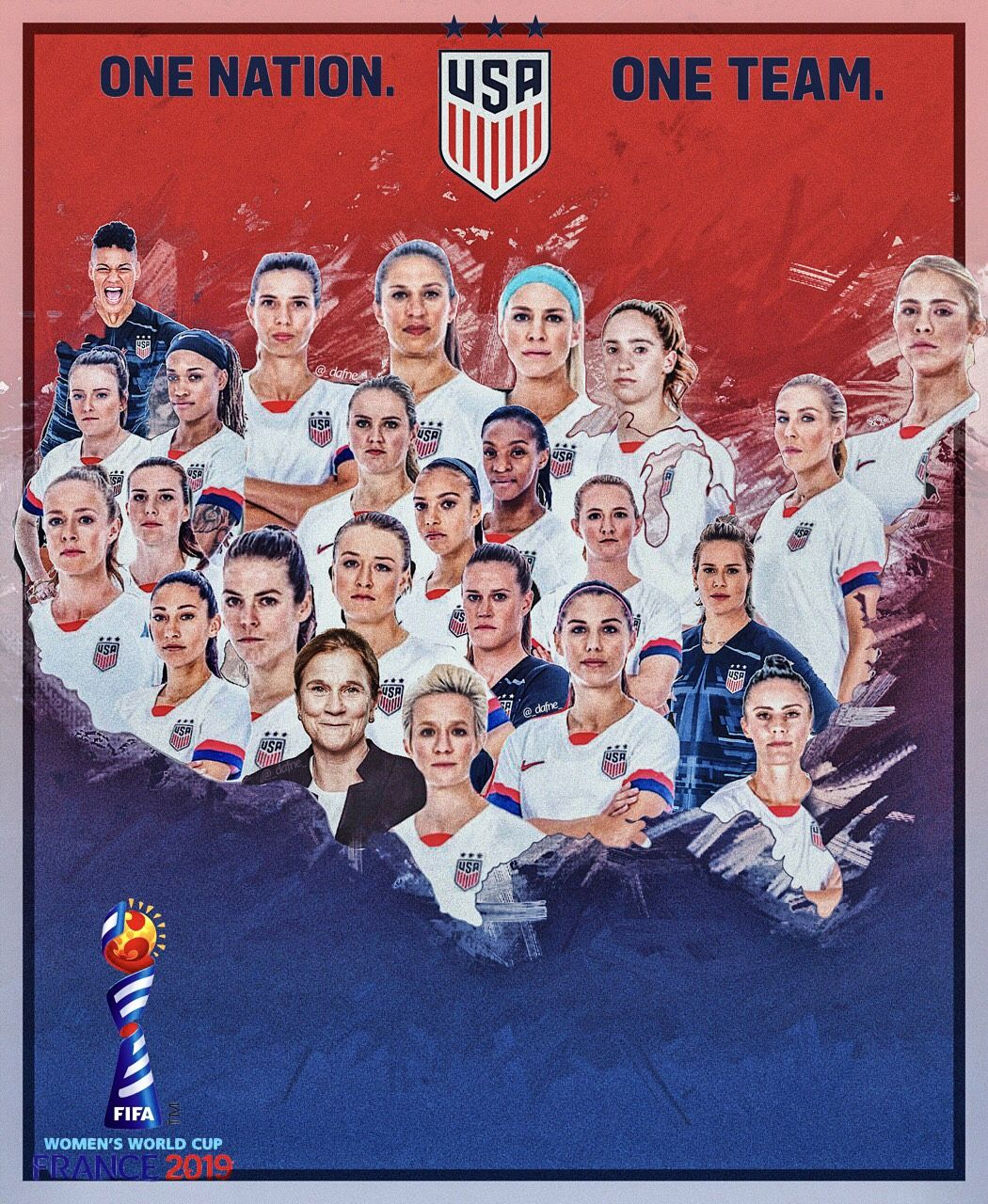 2019 Uswnt World Cup Team Uswnt World Cup Teams Us Women S National Soccer Team