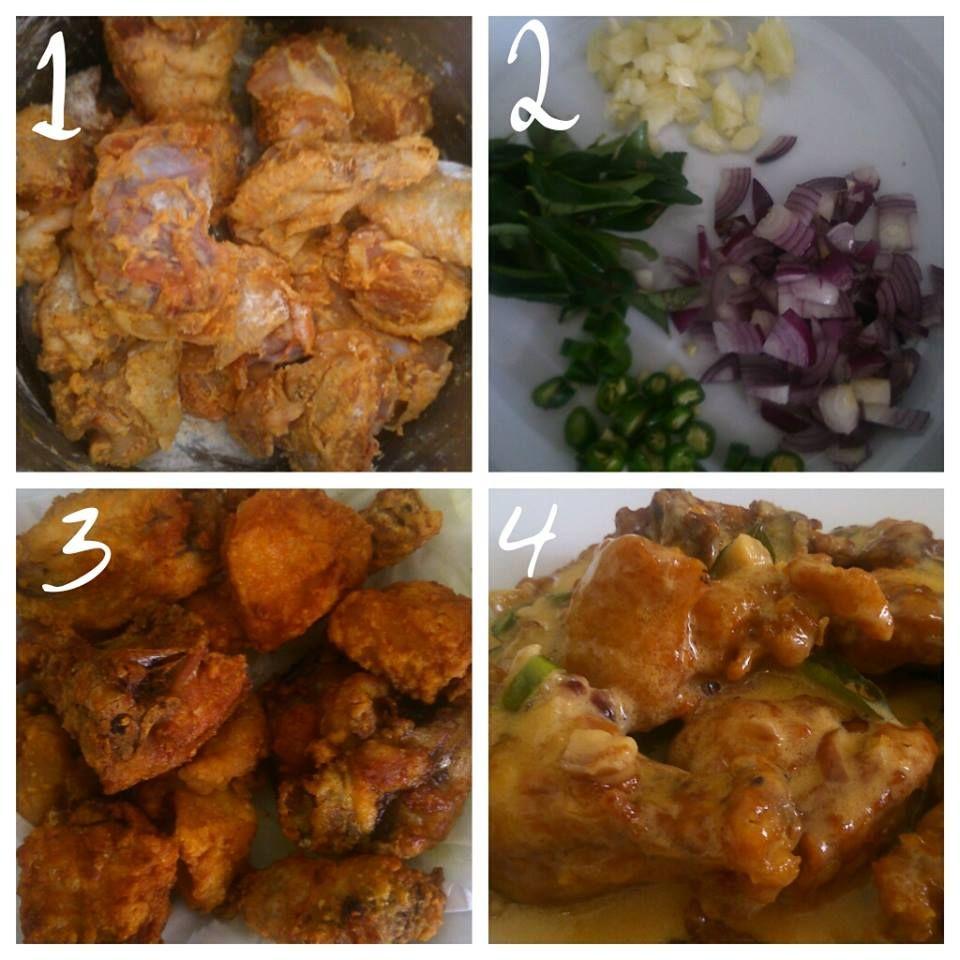 Kasih Salina Resepi Ayam Buttermilk Cooking Recipes Recipes Cooking