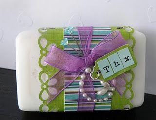 handmade soapJolanda Meurs and Bo Bunny