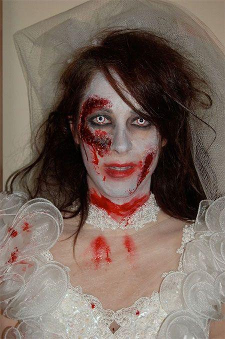Halloween Bride Make Up | Bride Makeup Looks & Ideas For Halloween ...