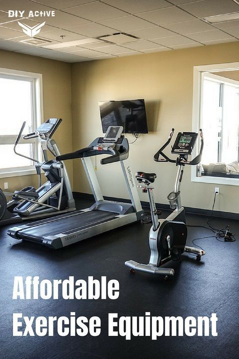 Affordable Exercise Equipment @DIYActiveHQ #fitness #homefitness #homegym #gym #exerciseequipment