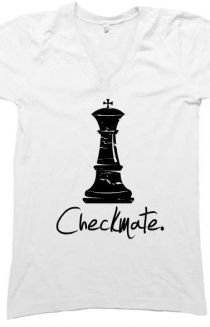 b611c08c Checkmate #Chess #T-shirt #DistrictLine #vneck | Chess | Chess ...