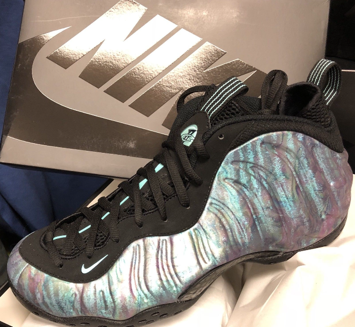 Nike Air Foamposite One PRM Men s Size 8 Thermal Map ...