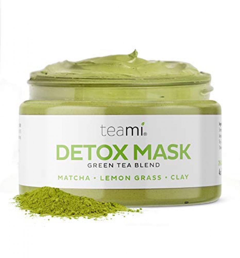 Photo of Teami Green Tea Matcha Detox Face Mask – Deep Pore Cleansing & Hydrating Blackhead Remover Mud Mask