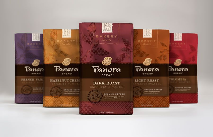 Panera Bread Coffee Box Fascinating Mitre Agency  Panera Bread  Packaging  Coffee  Love My Coffee Inspiration Design