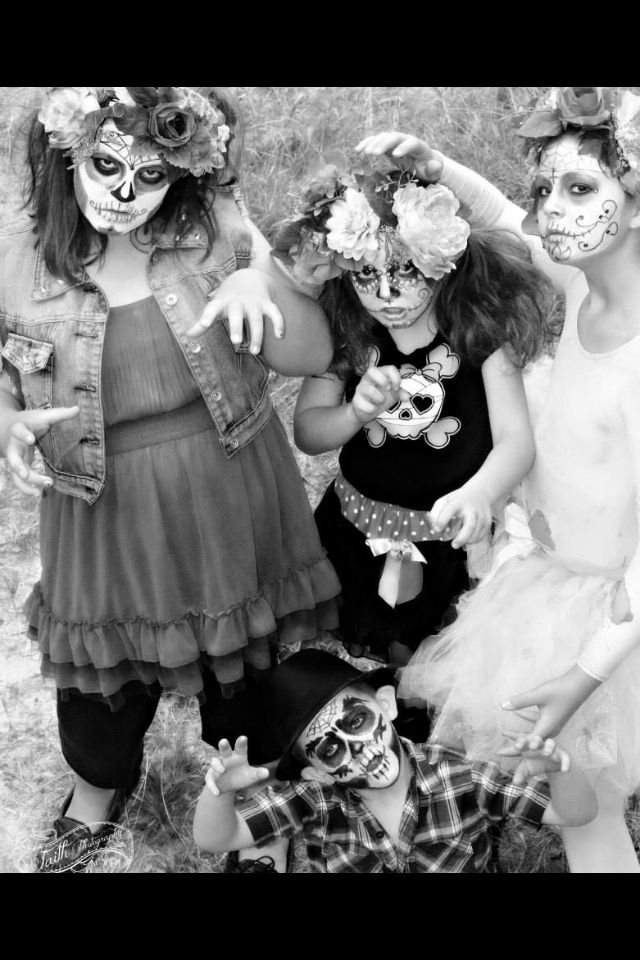 Sugar skull Photo taken by Faith Photography