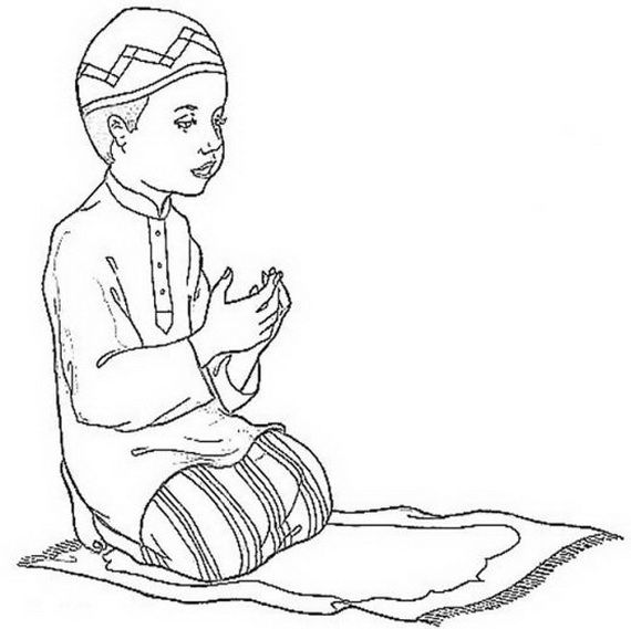 Ramadan Coloring Pages For Kids | Fe