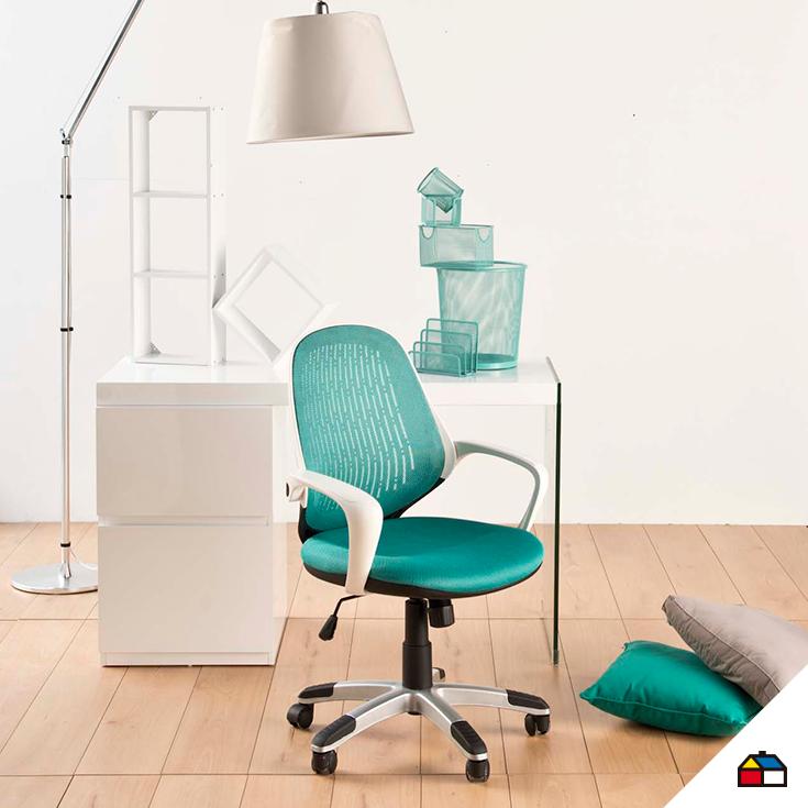 sodimac homecenter sillas escritorio espacio hogar