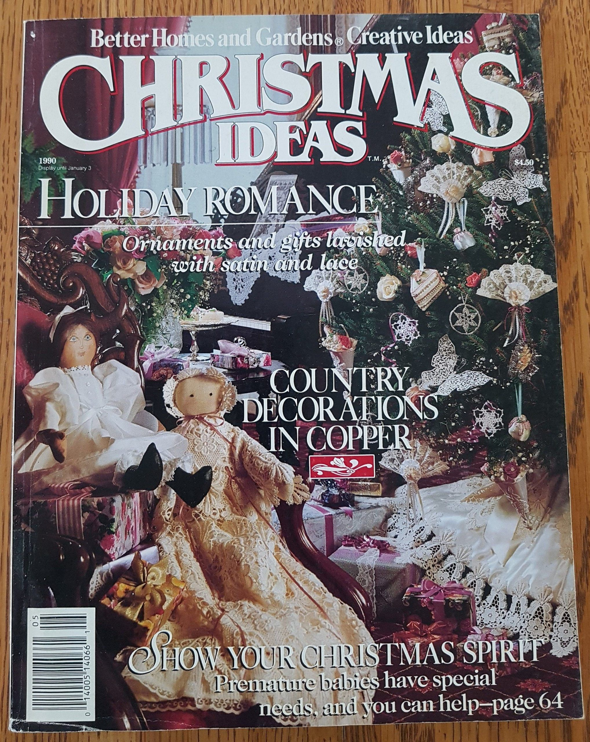 Christmas Ideas Magazine 1990 From Better Homes And Gardens Creative Ideas Christmas Creative Gard In 2020 Unique Garden Art Recycled Garden Art Creative Gardening