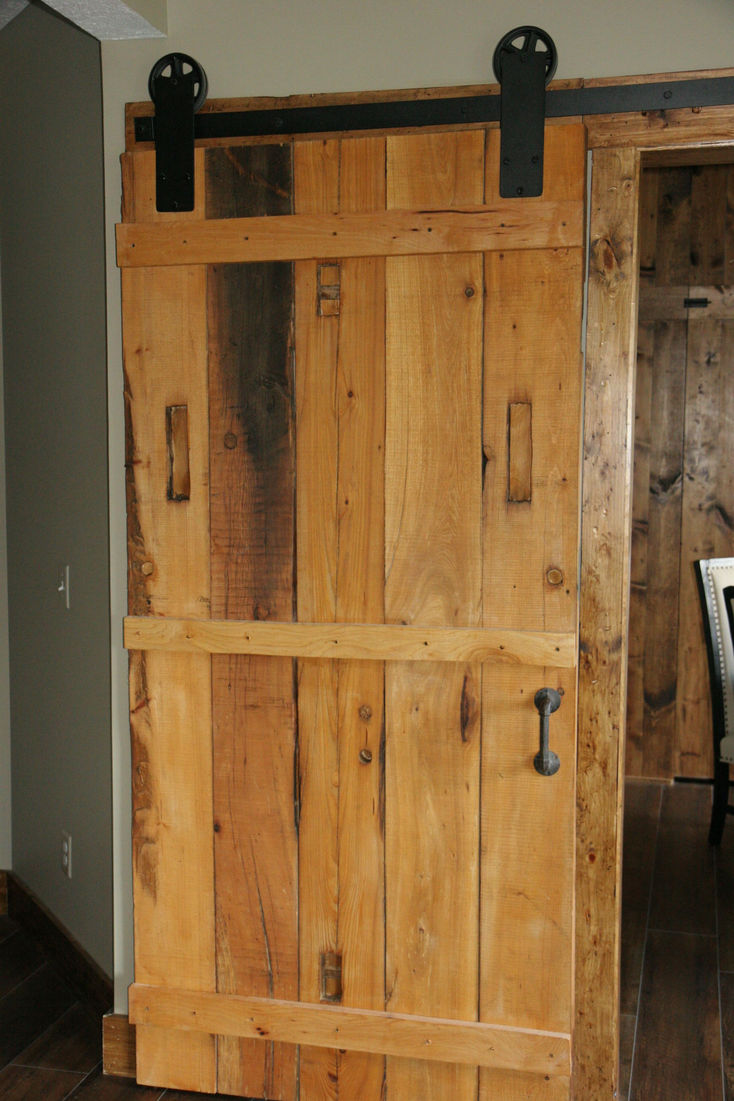 Awesome Sliding Barn Doors Made From Local Barn Beams Barn Door Handles Collection Olytizonderlifede