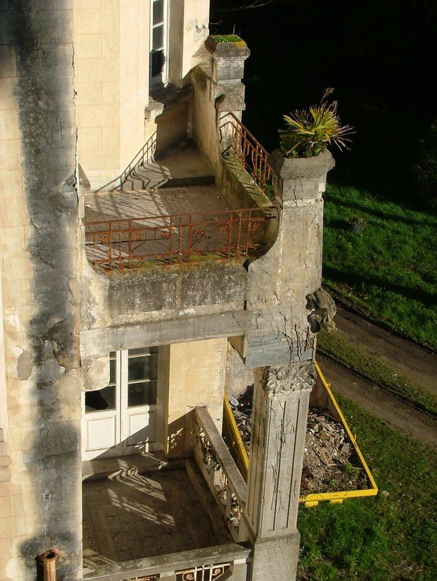 The abandoned Villa Excelsior in Luarca. Spain.